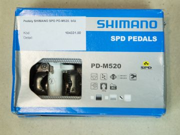 pedály Shimano PD-M520 - bike