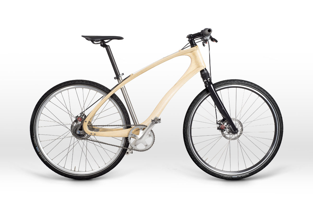 Skeleton - wood bike