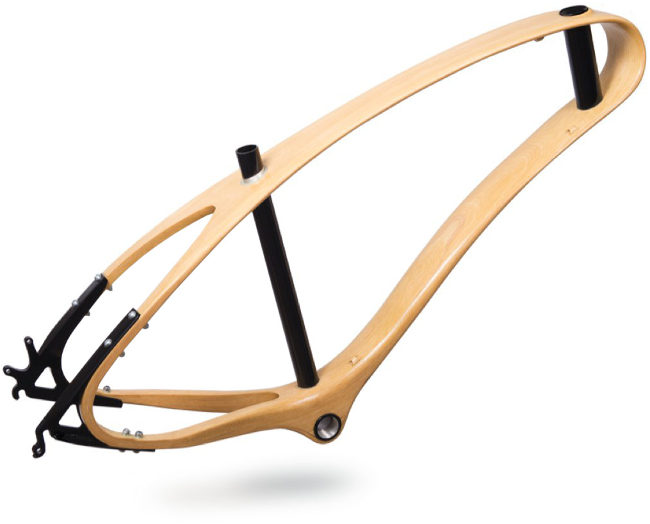 Avocado - wood bike