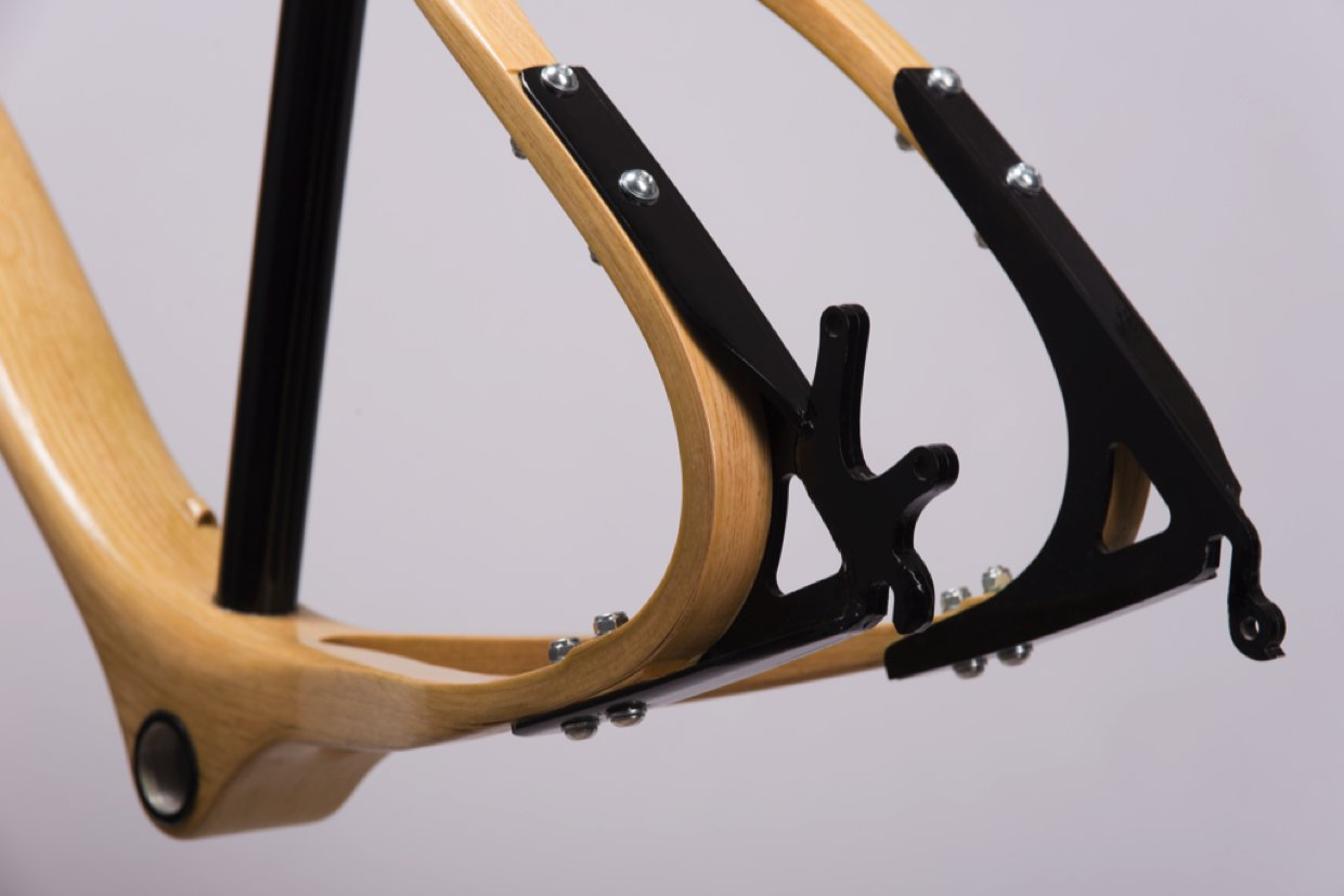 Wood bike – Frame