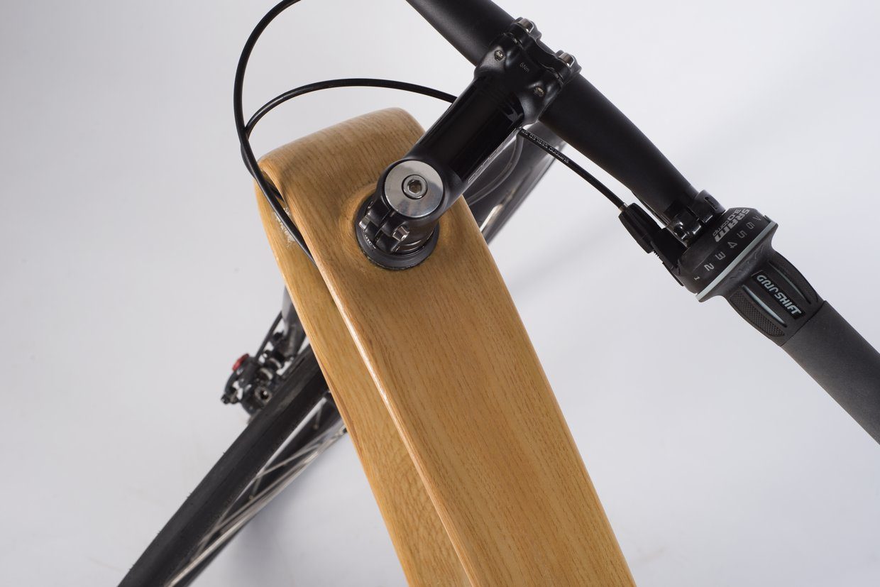 Wood bike – complete bike